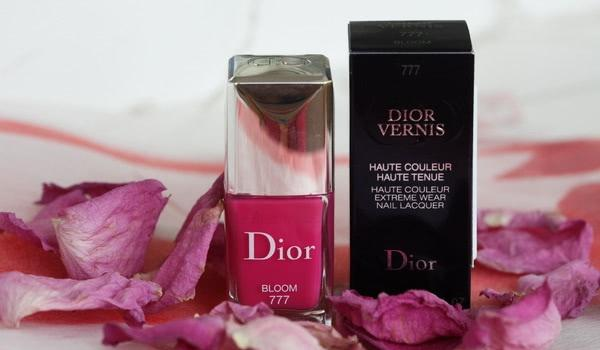 Мой весенний Dior Vernis Haute Couleur Extreme Wear Nail Lacquer 777 Bloom - отзыв
