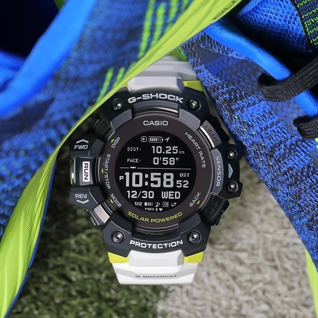 Casio USA - Track your stats and daily steps with the fitness functions packed into the smart G-SHOCK #GBDH1000. ⁠ Heart Rate ✅⁠ Running Distance ✅⁠ Elapsed Time and Pace ✅⁠ and ➕⁠ •⁠ ⁠ •⁠ ⁠ •⁠ ⁠ •⁠ ⁠...