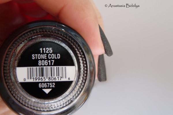China Glaze Nail Lacquer With Hardeners - Stone Cold - отзыв