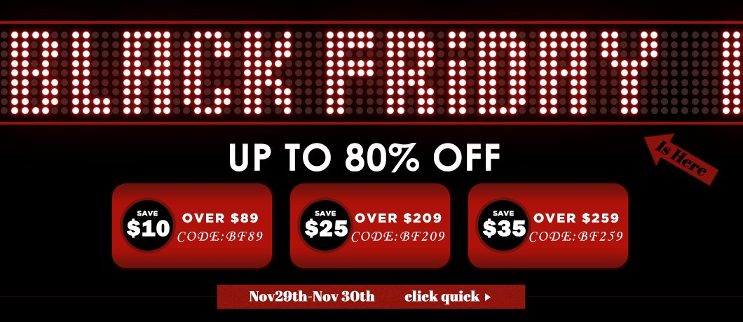 Cyber Week Super Deal: Up To 80% OFF Starts Now! Extra 5% off