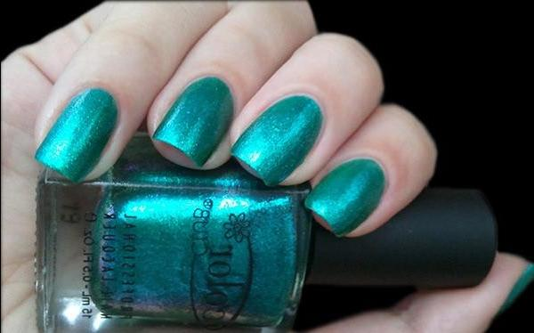 Fans of green is dedicated to ... Color Club - Metamorphosis - review