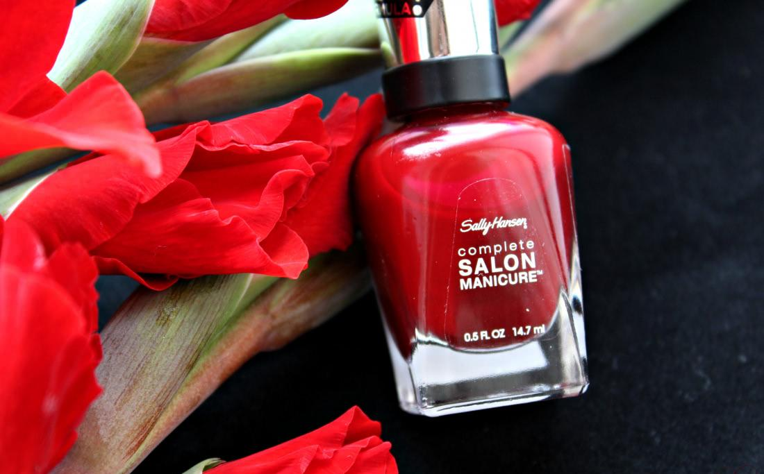 Sally Hansen Complete Salon Manicure 610 Red Zin - отзыв