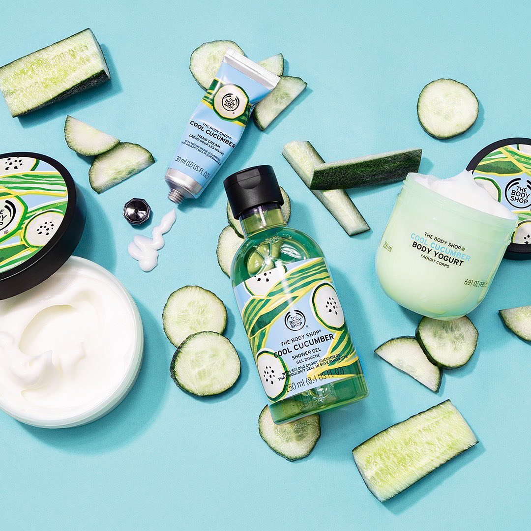 The Body Shop India - Cucumbers are made with 96% water – cray, right? This #SelfcareSunday, chill this weekend in an instant with our limited-edition Cool Cucumber range. Made with juice from wonky c...