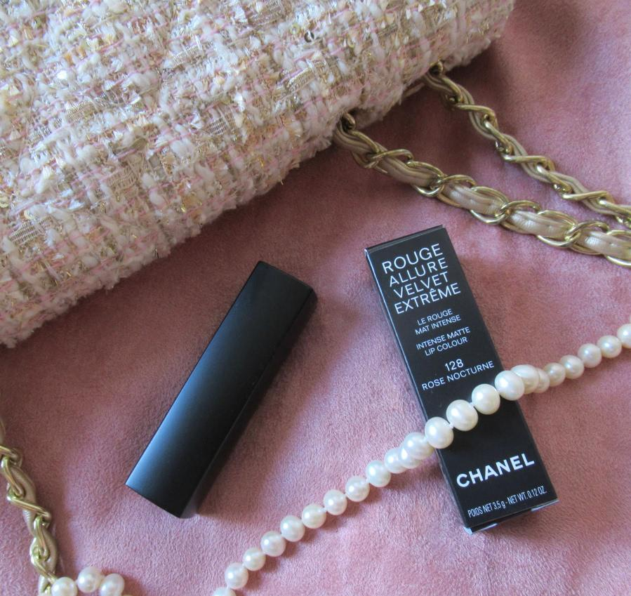 Chanel Rouge Allure Velvet Extreme 128 Rose Nocturne - отзыв
