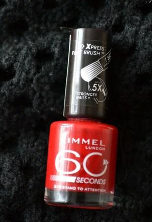 Rimmel 60 seconds #318 Stand to attention - отзыв