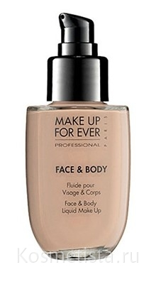 Тональный крем для лица и тела Make Up For Ever Face And Body Liquid Make Up - отзыв