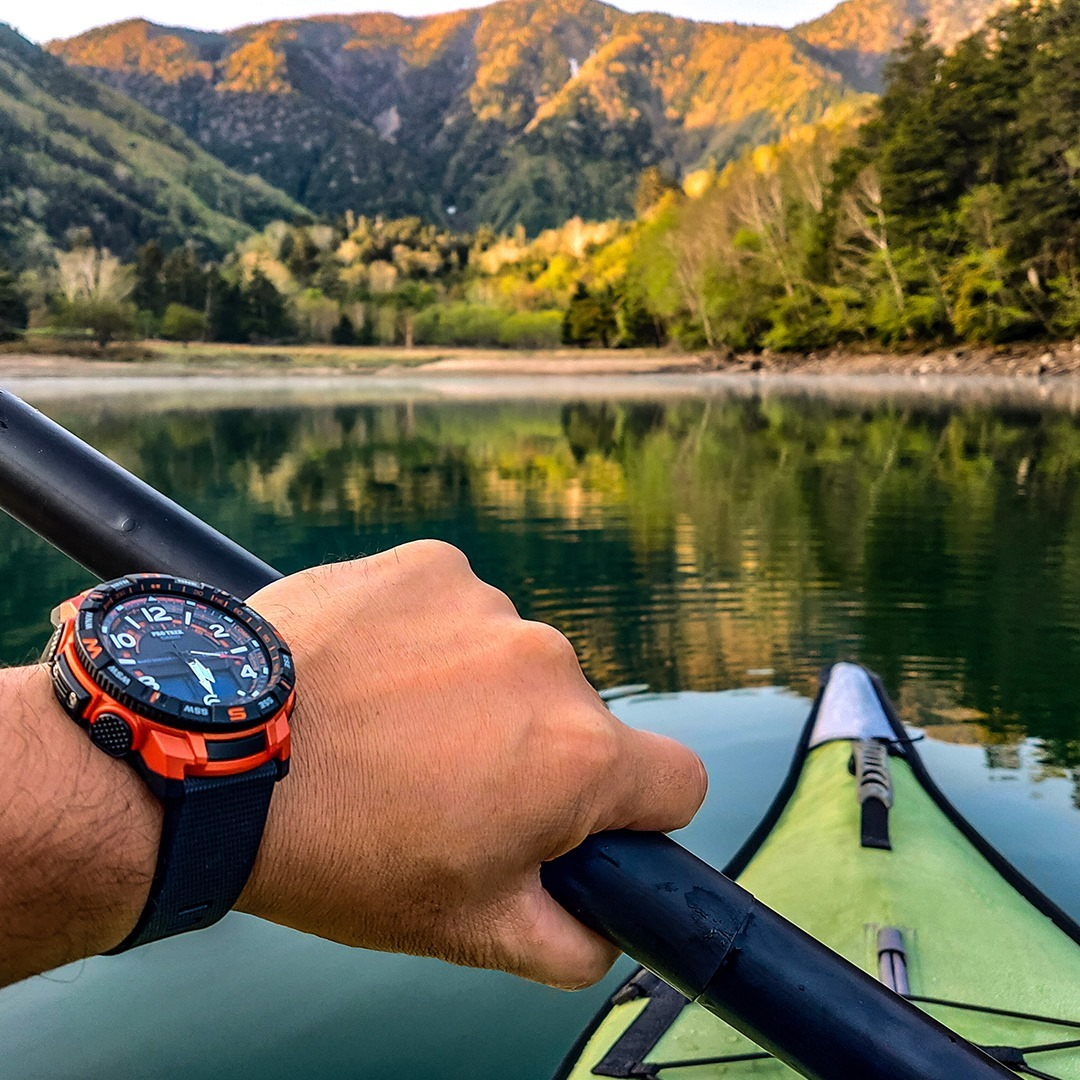 Casio USA - Sundays on stream with the ProTrek PRTB50.⁠ •⁠ ⁠ •⁠ ⁠ •⁠ ⁠ •⁠ ⁠ •⁠ ⁠ •⁠ ⁠ •⁠ ⁠ #casio #protrek #outdoor #watch #paddlelife #prtb50 #kayak #adventure #camping #hiking #backpacking #outdoorg...