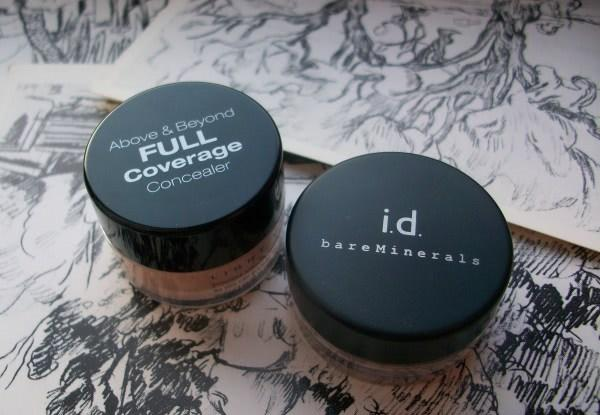 Идеальный пятновыводитель: NYX full coverage concealer jar cj02 Fair vs bareMinerals Multi-Tasking Bisque Spf20 - отзыв