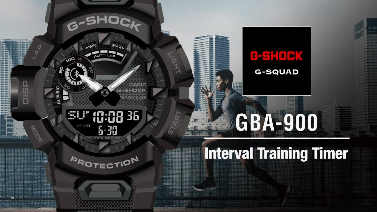 Tips Vol.03: Interval Training Timer | CASIO G-SHOCK GBA-900