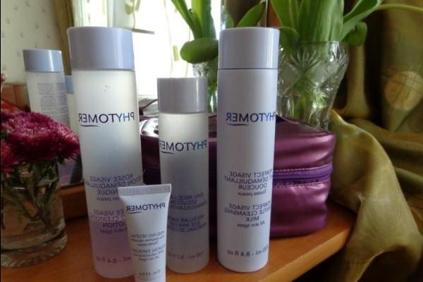 Очищение с Phytomer Essential Cleansing Collection - rezension