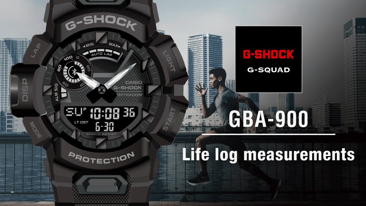 Tips Vol.04: Life Log measurements | CASIO G-SHOCK GBA-900