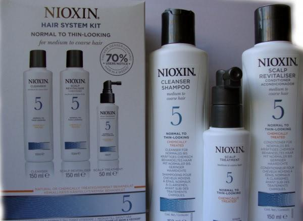 Nioxin Hair system kit №5 - отзыв