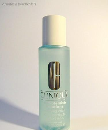 Clinique: Anti-Blemish Solutions Clarifying Lotion - отзыв