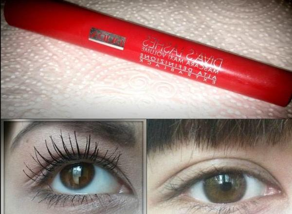 Pupa Divas Lashes Mascara Maxi volume Extra black # 01 - rezension