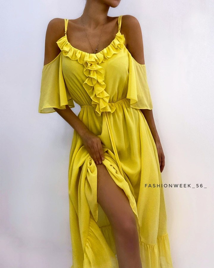 CHIQUEDOLL🎀 - love!!!⁠ #dress  #dress  #lacedress  #fashion  #yellow #luxe #magnifique #mode #Fashion #dress #eveningdress  #wedding #elegantdress #dressoftheday #eventdress #couturegown #promdress #p...