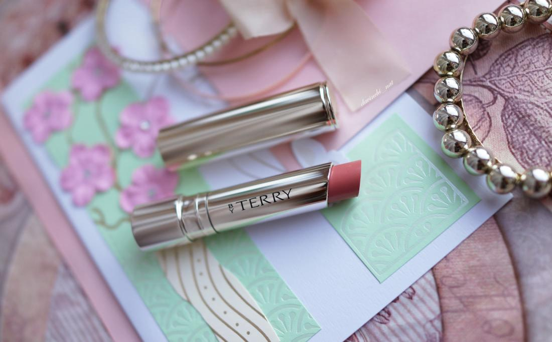 By Terry Hyaluronic Sheer Rouge Hydra-Balm Fill & Plump Lipstick UV Defense #1 Nudissimo - отзыв