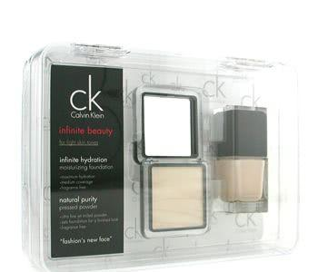 Набор по уходу за кожей Infinite Beauty Set от Calvin Klein (Infinite Beauty Set - For Light Skin Tones ( Foundation # 113, Pressed Powder # 106 ) - отзыв
