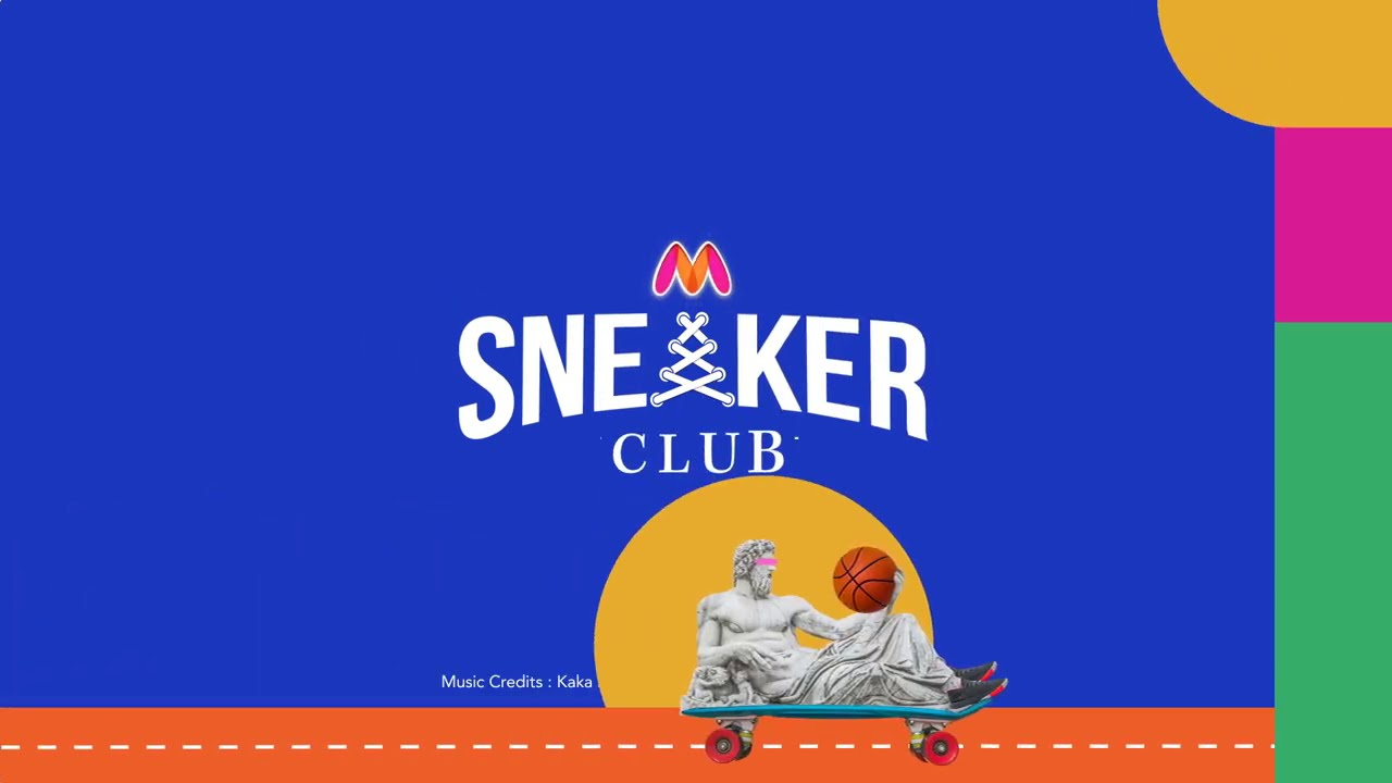 Unveiling the new Myntra Sneaker Club!
