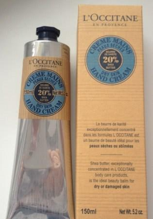 Мое спасение рук в холода или L'Occitane Hand Cream 20% Shea butter - отзыв