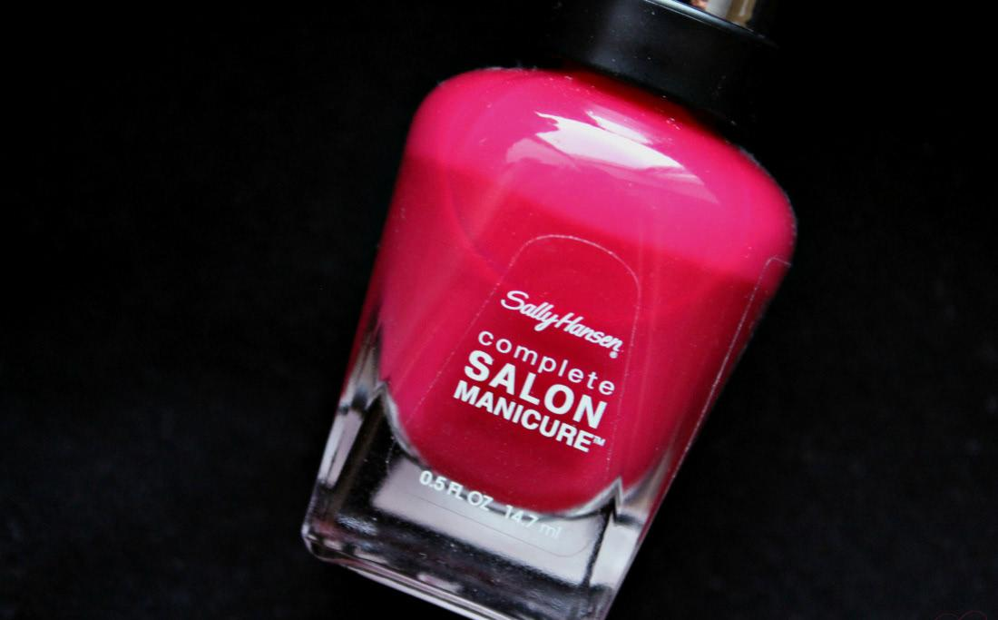 Sally Hansen Complete Salon Manicure 565 Aria Red-Y - отзыв
