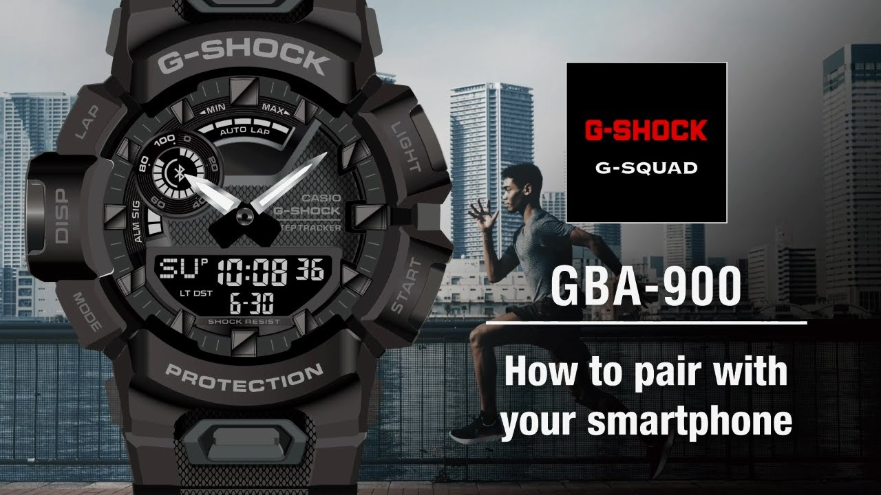 Tips Vol.01: How to pair with your smartphone | CASIO G-SHOCK GBA-900