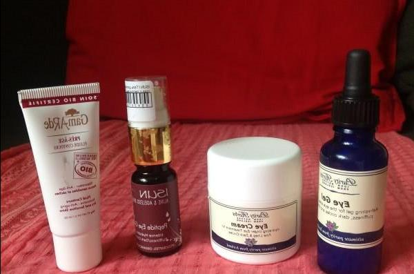 Skin care around the eyes - review