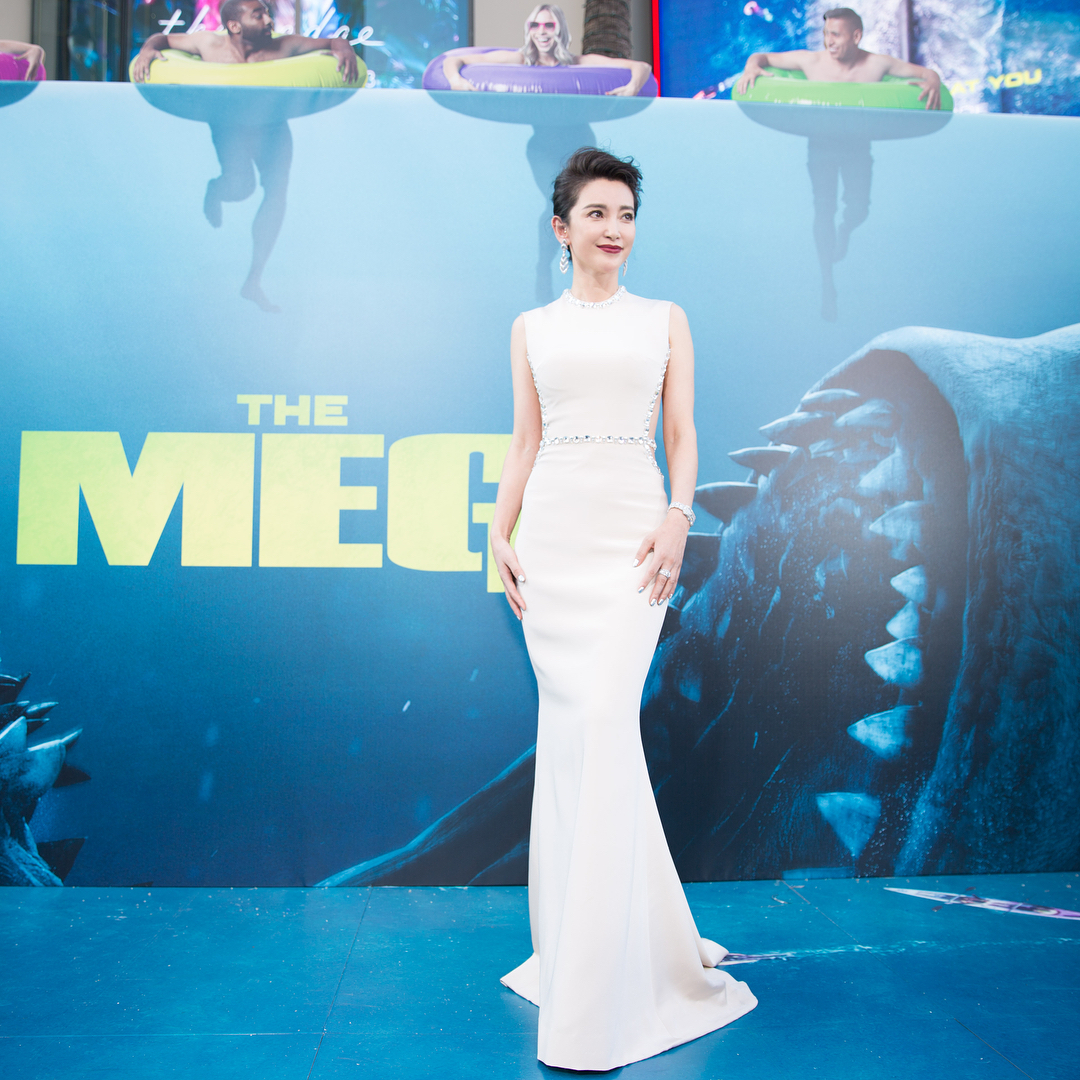 Attending The Meg premiere in Los Angeles, so exciting to see The Meg in theater on August 10th