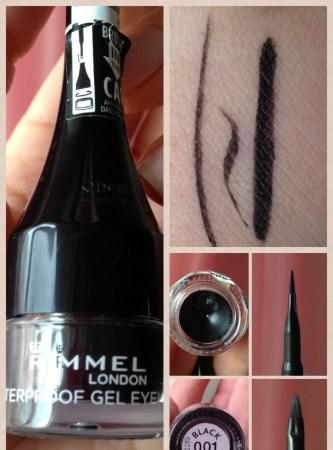 Rimmel Waterproof Gel Eyeliner оттенок 001 black - отзыв