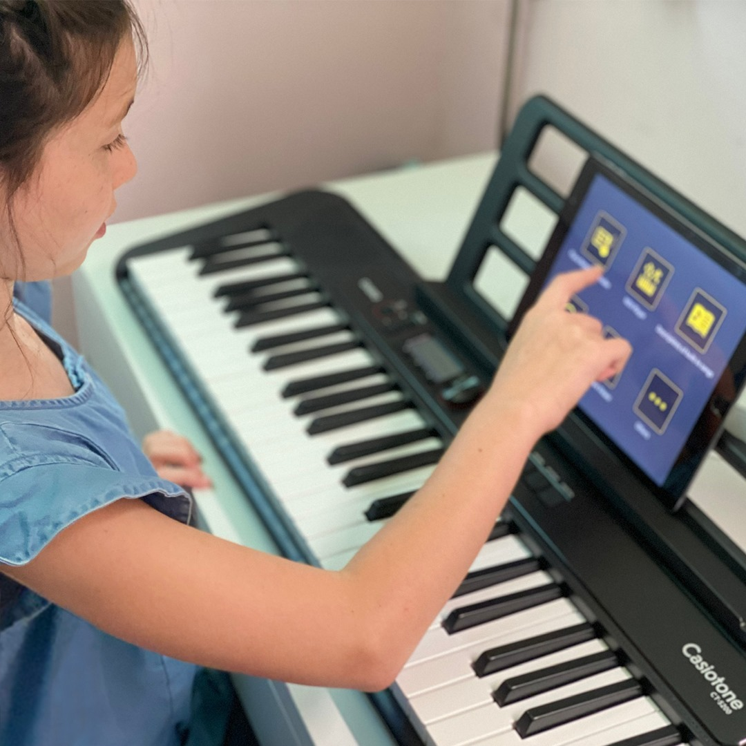 Casio USA - The affordable, portable, great-sounding start to your student's musical journey is only a Casiotone away.🎼🎵 🎹⁠ Learning is easy with fast USB connection to any device and a quick download...