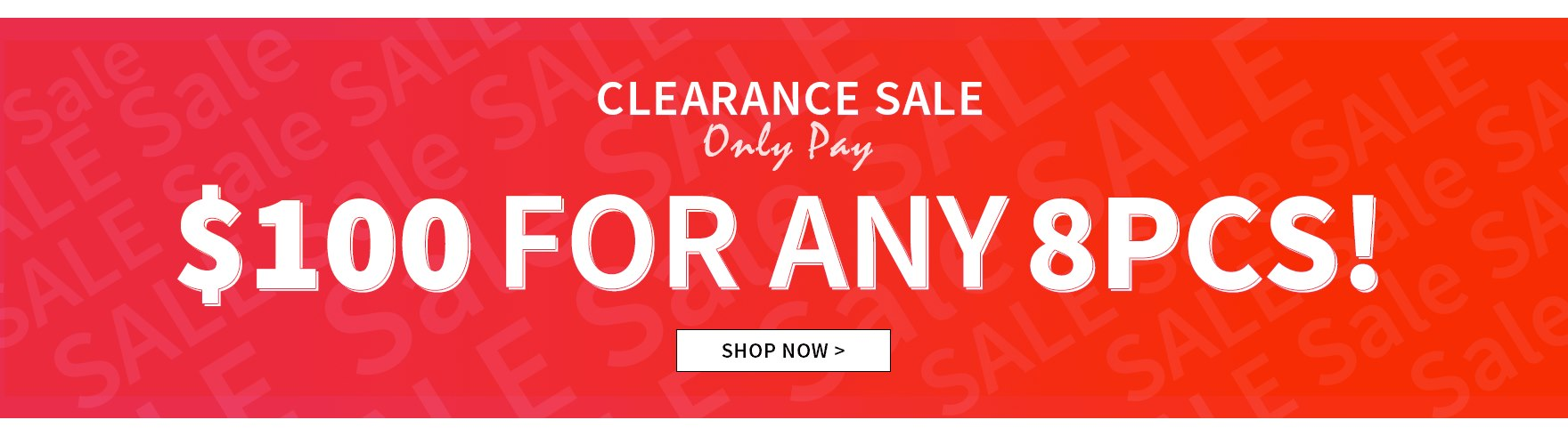 Black Friday Warm Up: 10% Off WOMEN'S & MEN'S & ACCESSORIES Over $99