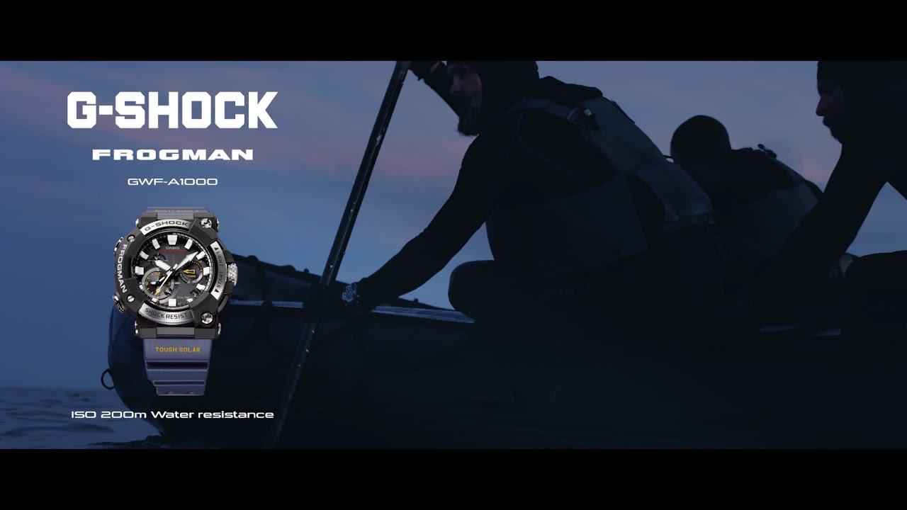 FROGMAN GWF-A1000 Promotional movie: CASIO G-SHOCK