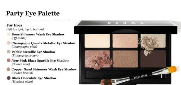 Палетка теней Party eye palette Limited Edition Bobbi Brown - отзыв