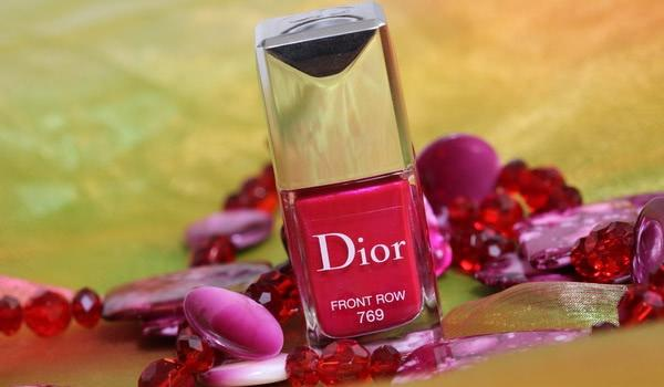Лак для ногтей Dior Vernis 769 Front Row Couture Colour Gel Shine And Long Wear Nail Lacquer - отзыв