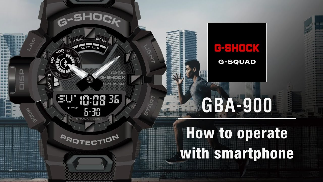 Tips Vol.06: How to operate with smartphone | CASIO G-SHOCK GBA-900