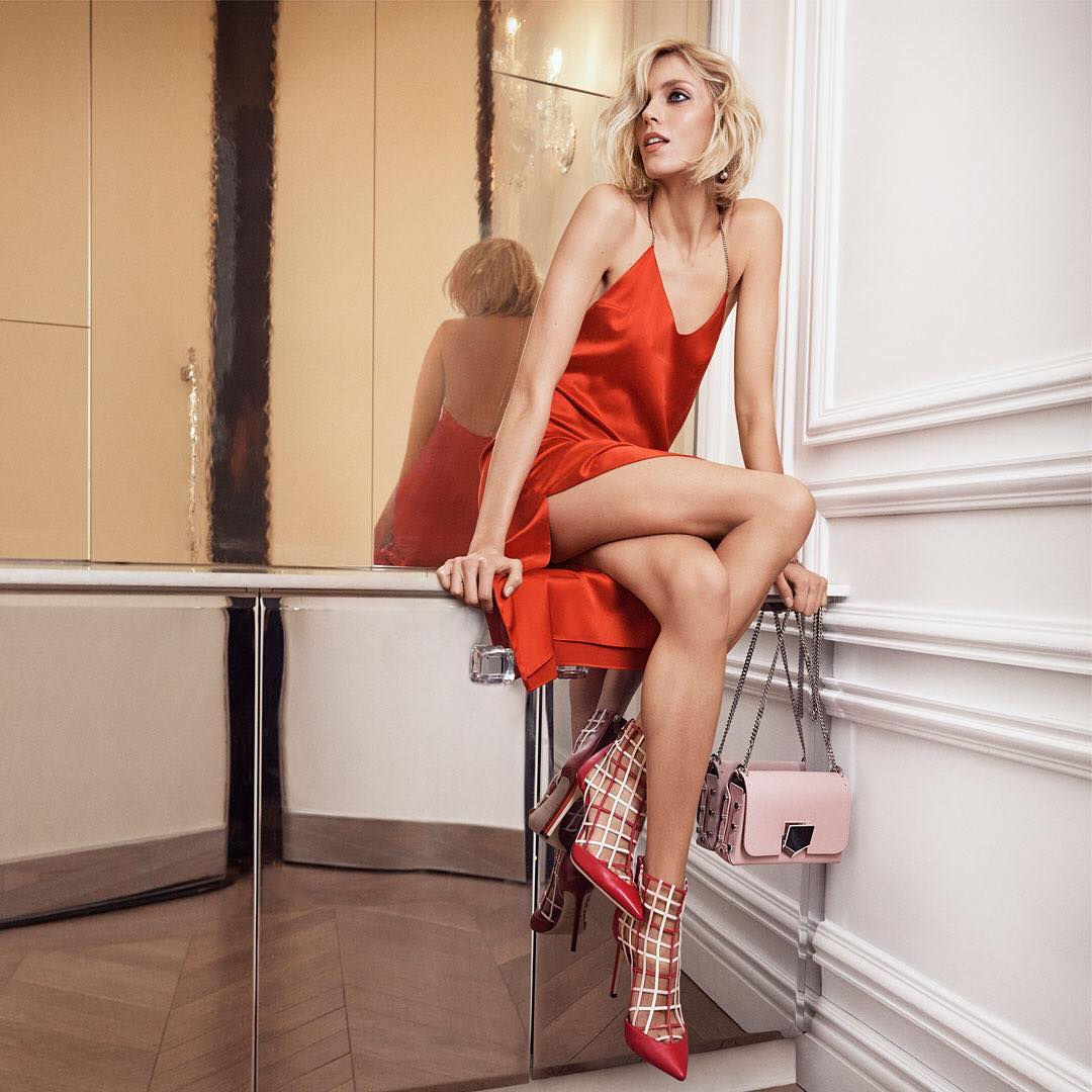 Jimmy Choo by Anja Rubik