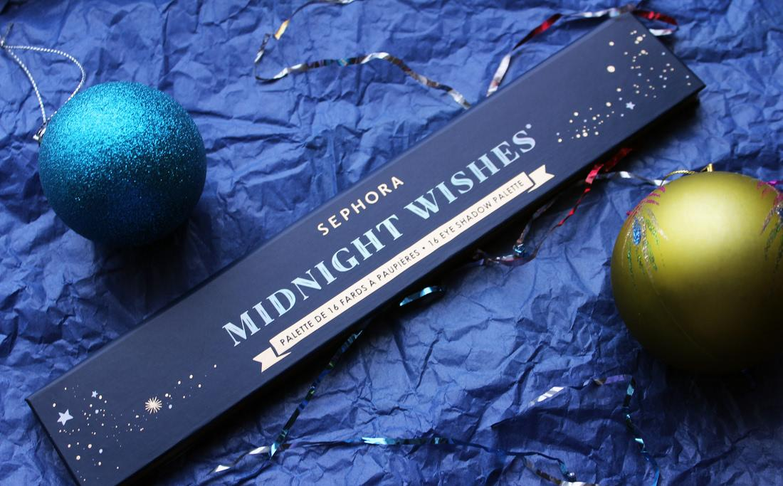 Sephora Collection Палетка теней Once Upon a Night Midnight Wishes - отзыв
