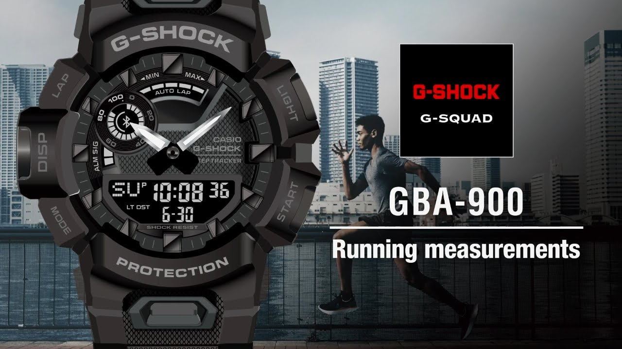 Tips Vol.02: Running measurements | CASIO G-SHOCK GBA-900