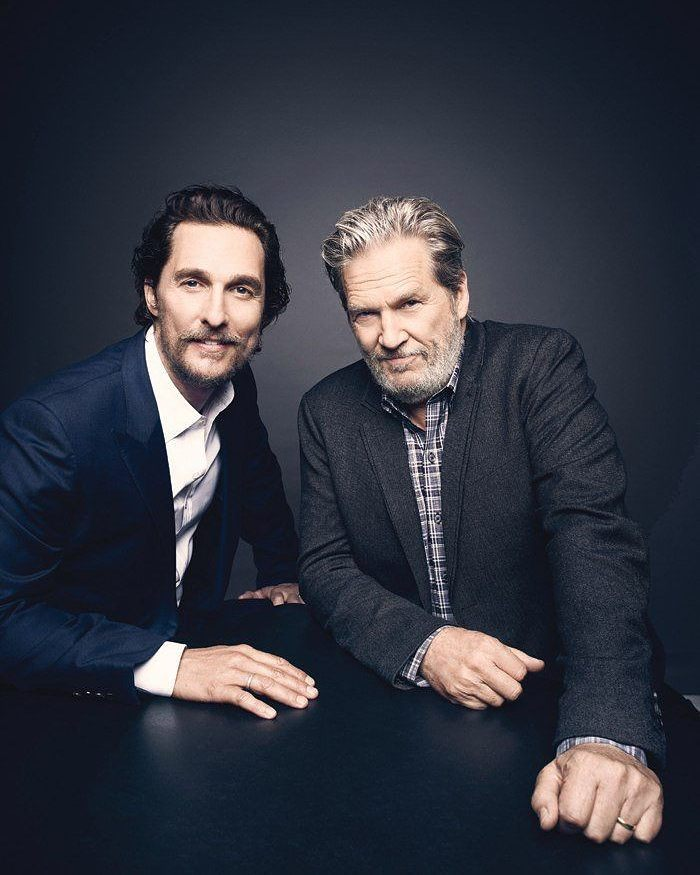 With Jeff Bridges ))