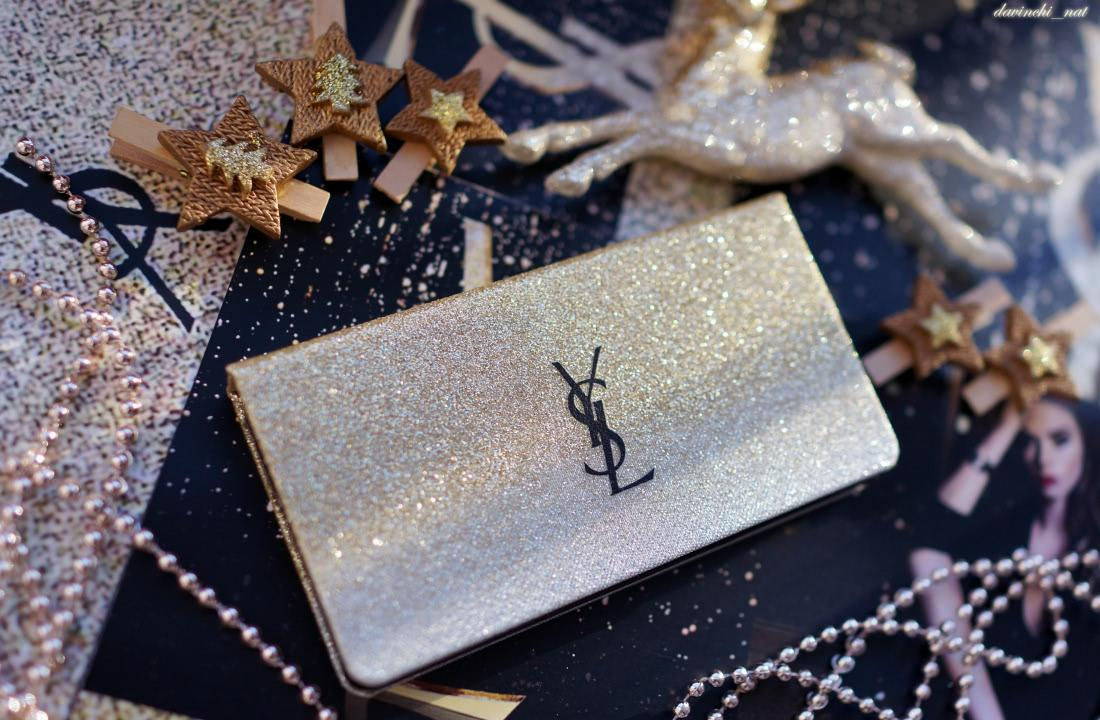 Рождественская коллекция макияжа YSL Sparkle Clash Makeup Collection Christmas Holiday 2016-2017. YSL Multi-Usage Palette Collector Sparkle Clash - отзыв