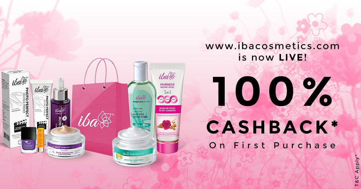 Get 100% cashback on first purchase