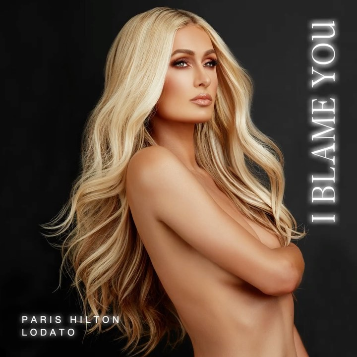 "Paris Hilton - So excited to announce that my new single ""I Blame You"" produced by @DjLodato comes out this Friday, October 16th! ✨🎤👸🏼✨ ALL Proceeds will be going to @BreakingCodeSilence. ❤️"
