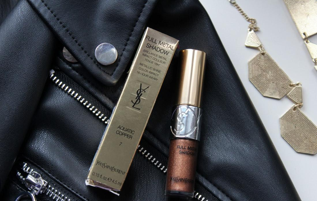 YSL Full Metal shadow #7 Aquatic Copper - отзыв