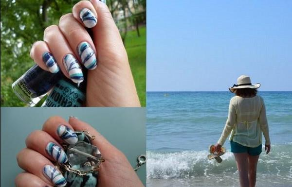 The sea worries time.... Or water manicure - review