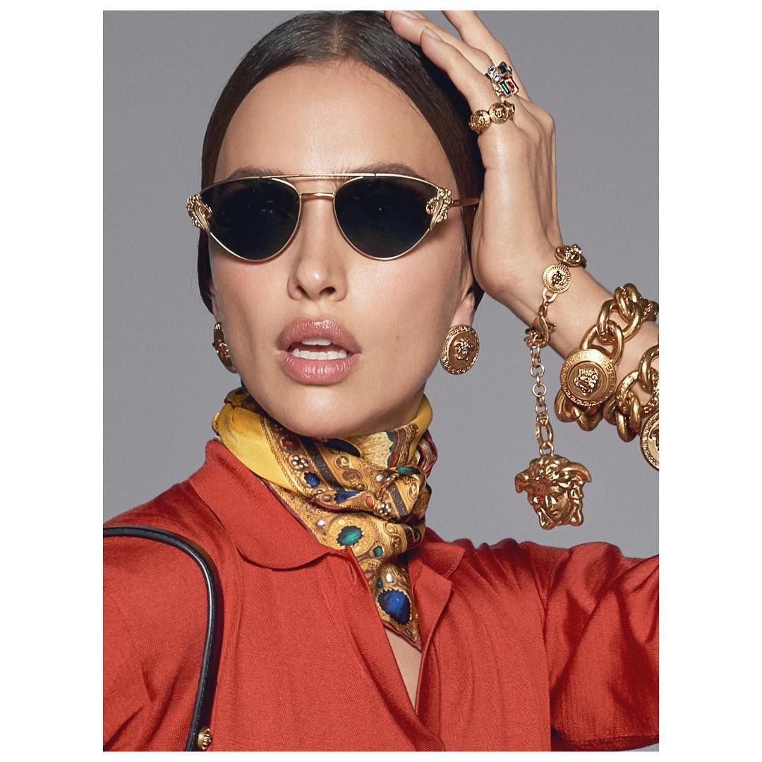 New Baroccomania sunglasses by Versace