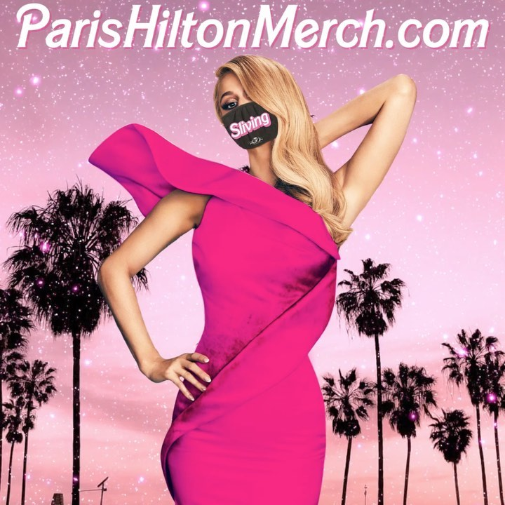 Paris Hilton - Loving my new @ParisHiltonMerch Collection! 😍 This drop is #LimitedEdition, so order yours before it's sold out! 💓Get yours at ParisHiltonMerch.com 💋