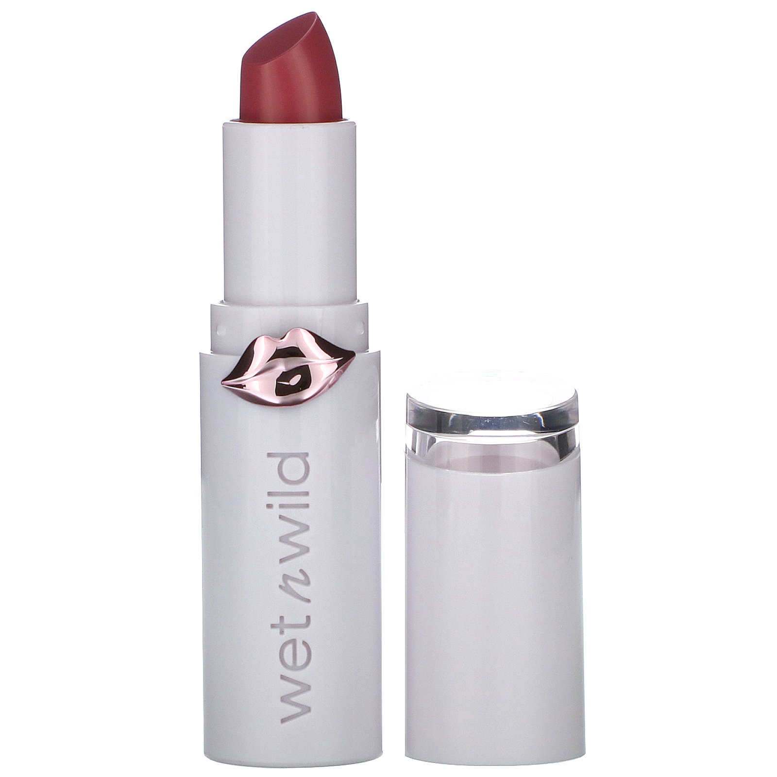 Wet n Wild, MegaLast High-Shine Brillance Lip Color, Rose and Slay, 0.11 oz (3.3 g)