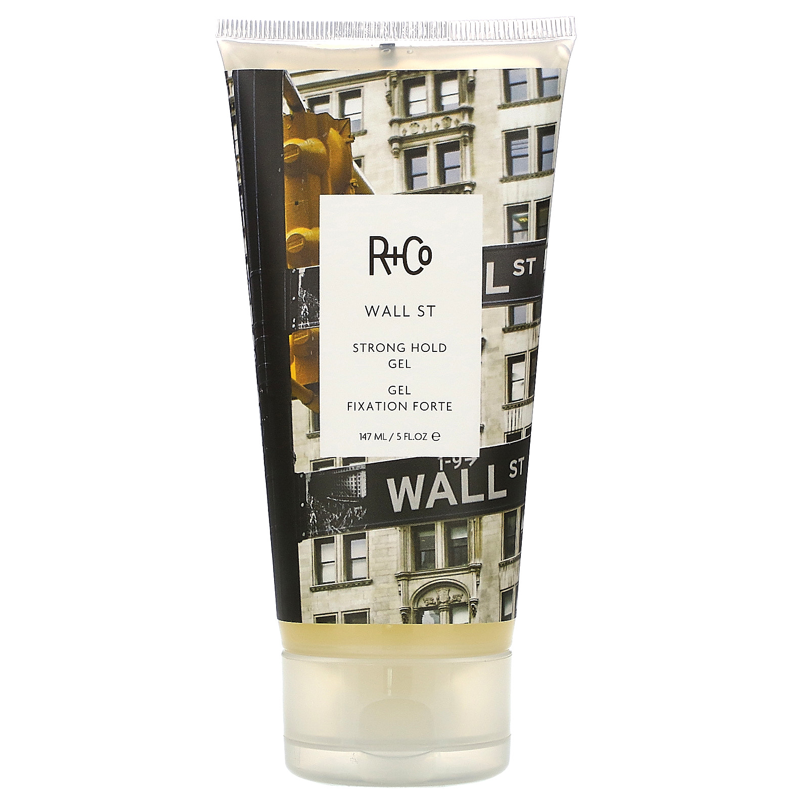R+Co, Wall ST, Strong Hold Gel, 5 fl oz (147 ml)