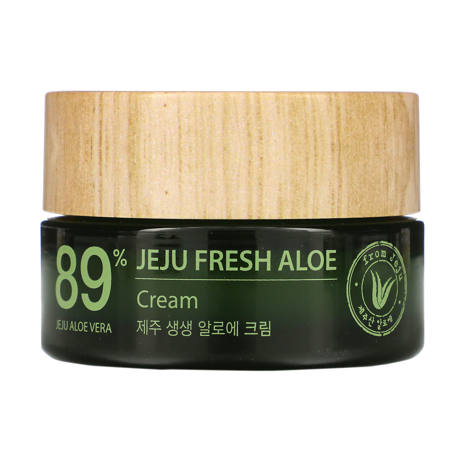 The Saem, Jeju Fresh Aloe, 89% Aloe Vera Cream, 1.69 fl oz (50 ml)