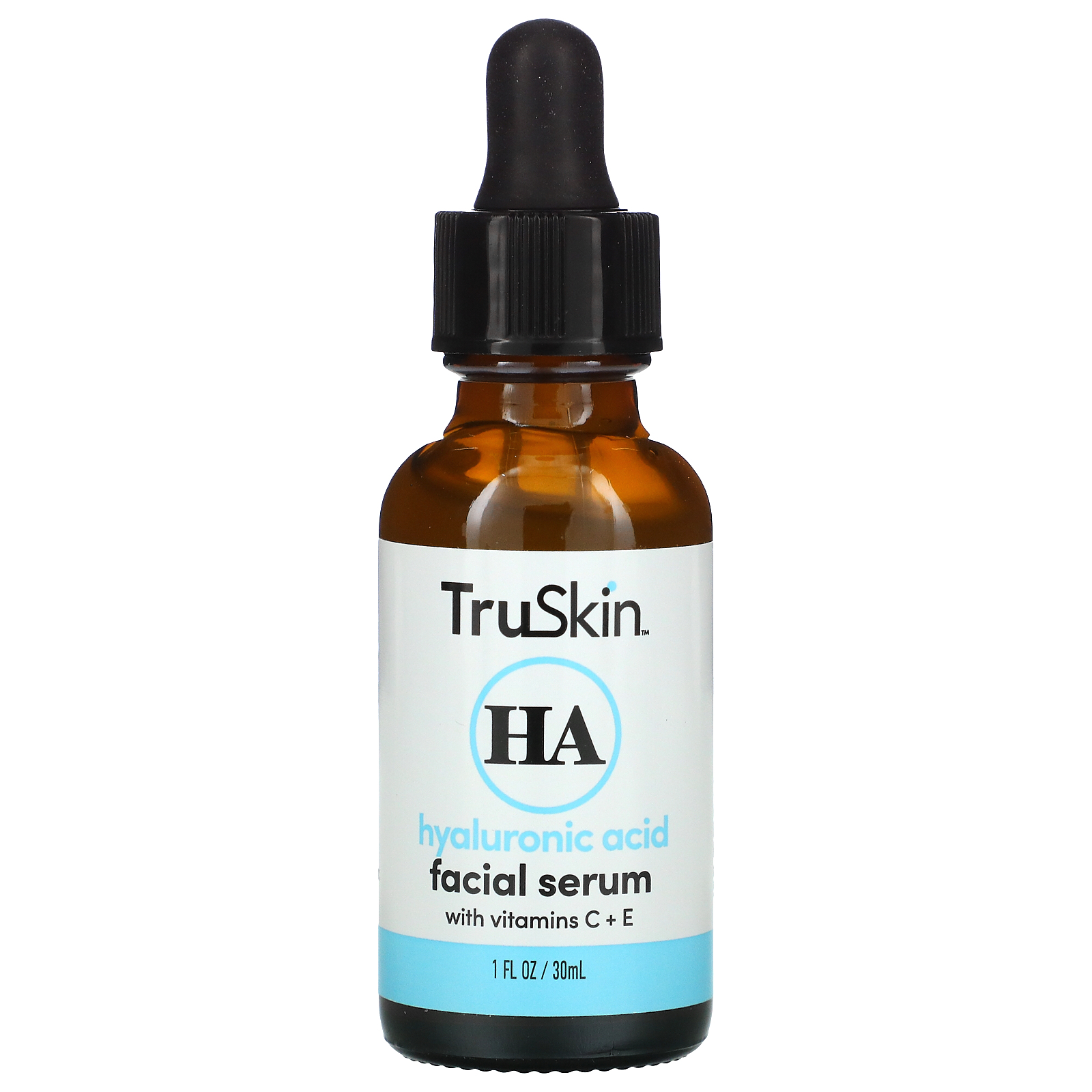 TruSkin, Hyaluronic Acid Facial Serum, 1 fl oz (30 ml)