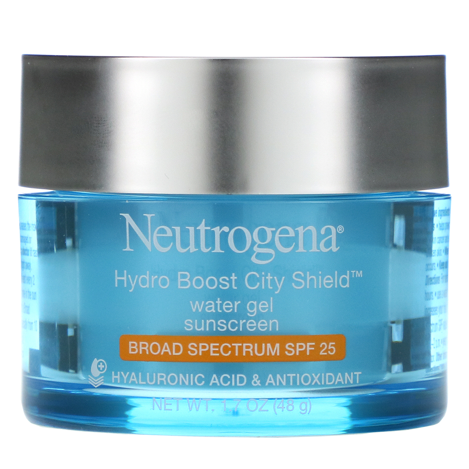 Neutrogena, Hydro Boost City Shield, Water Gel Sunscreen, SPF 25, 1.7 oz (48 g)